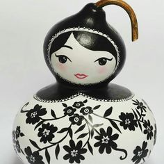 Black & white matrioska