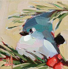 Carbonero de porrones y lámina de aves bayas por por prattcreekart