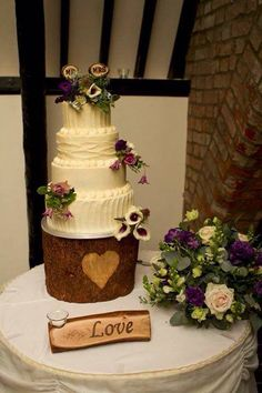 Wooden Treats offer you the opportunity to bring a Bespoke Rustic Theme to your wedding. Products for both Ceremony and Reception Décor inspire a unique style Handmade Wedding, Rustic Wedding, Purple Wedding Cakes, Wedding Cake Stands, Rustic Theme, Reception Decorations, Treats, Desserts, Food