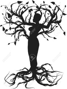 3220318-Conceptual-illustration-of-the-tree-of-life-One-Color--Stock-Vector.jpg (985×1300)
