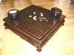 Oldest known board game, Weiqi. Also known as Go.