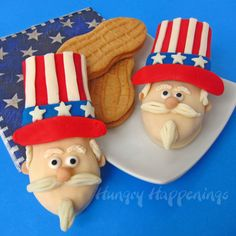 Turn Nutter Butters into Uncle Sam Cookies for 4th of July - Hungry Happenings