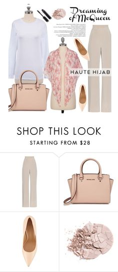 """Haute Hijab 3/3"" by merima-kopic ❤ liked on Polyvore featuring MaxMara, Michael Kors, Schutz, Chanel and hautehijab"