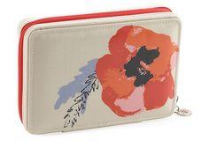 Hard-Sided Jewelry Case, Poppy Print on OneKingsLane.com