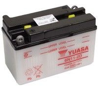 Yuasa 6N11-2D 6v Motorcycle Batteries