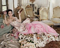 Victorian-Era Editorials  Emily Blunt is Regal in 'There Will be Beauty' for Vanity Fair