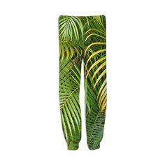 Palm tree sweat pants