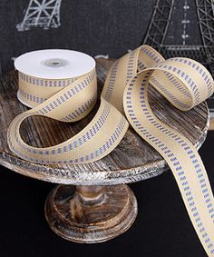 5.99 SALE PRICE! Use this delightfully rustic ribbon in a variety of ways to add some detail to your gifts and projects. Wrap the Burlap Ribbon around a Maso...