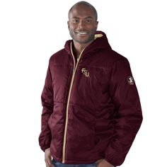 cd7cc47a5e College Florida State Seminoles G-III Sports by Carl Banks Goal-Line Stand  Parka