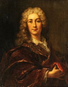 School of Nicolas de Largillière (1656-1746): Portrait of a gentleman. 18th century.