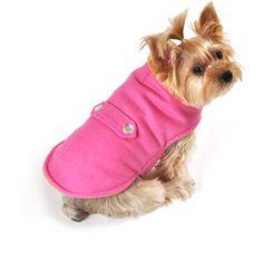 SimplyDog Tab Dog Jacket, Pink, Multiple Sizes Available $9.97