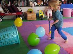 Resultado de imagen para motricidad con globos