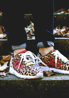ZX Flux 'Leopard' by snkr.art Buy it @ urbanoutfitters | adidas US | adidas UK