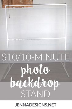 """""""I've seen a lot of tutorials on how to DIY your own backdrop stand out of PVC pipe, so I grabbed my trusty notebook and drew up a quick sketch of what I'd need."""" How to make your own DIY photo backdrop stand for weddings, showers, and birthday parties. Photo Backdrop Stand, Pvc Backdrop, Picture Backdrops, Backdrop Frame, Photography Backdrop Stand, Backdrop Ideas, Diy Backdrop Photography, Photobooth Backdrop Diy, Photo Booth Stand"""