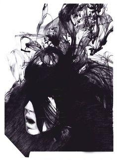 Illustration for La Peste magazine No. 13 Furia. By Dasha Pliska.