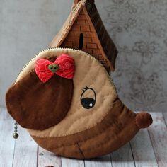 Кошелек (монетница), косметичка Собачка – купить в интернет-магазине на Ярмарке Мастеров с доставкой