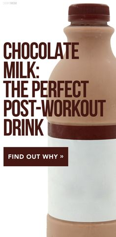 Chocolate after a workout? Sign me up!