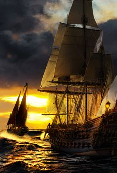 My Turn by Asynja on DeviantArt Ship Of The Line, River Painting, Sea Witch, Tall Ships, Water Crafts, Sailing Ships, Sailor, Deviantart, Fantasy