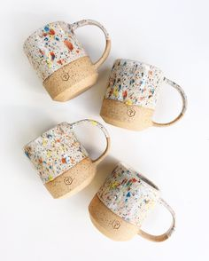 These sprinkles mugs will be available at @westcoastcraft!