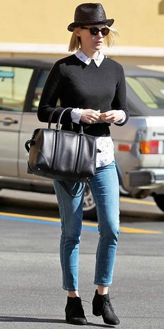 get the details on January Jones' outfit!