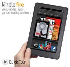 Kindle Fire ~ Use mine for Facebook, recipies, reading, browsing the internet, playing words with friends, and Pinterest (of course)