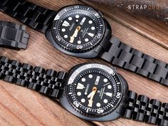 All black could work so well on Seiko Black New Turtle SRPB49K1 with #MiLTAT Angus Jubilee and Super Oyster bracelet #strapcode #Iwantstrapcode