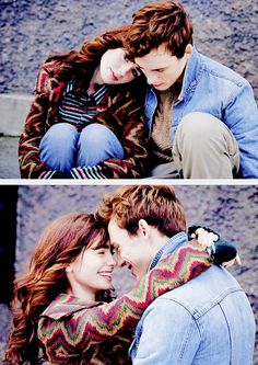 Lily Collins & Sam Claflin | Love Rosie Promo Shoot
