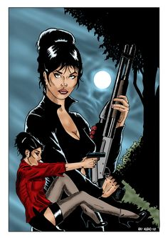 Peter O'Donnell's Modesty Blaise was a great inspiration for this series.