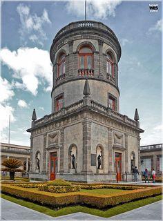 Alcazar del Castillo de Chapultepec...