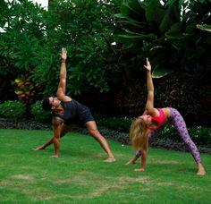 Pose Of The Week: Wide-Legged Twist - Peak Physique Hot Yoga