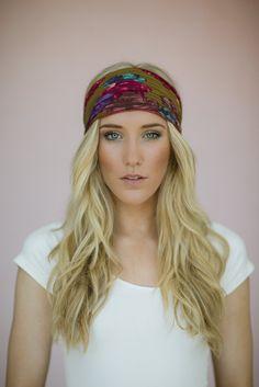Women's Accordion Pleated Headband Hair Wrap or by ThreeBirdNest, $18.00