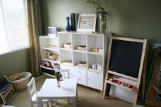A Child's Work Place...  The Anatomy of a Montessori Home Classroom (3-6yrs)