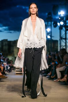 See the first Riccardo Tisci collection shown at New York Fashion Week.