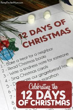 How to Celebrate the 12 Days of Christmas