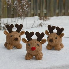 Riley the Reindeer and Friends crochet pattern