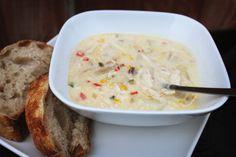 Creamy Chicken and Corn Chowder www.thekusilife.com