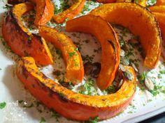Potimarron rôti aux graines de courge et 5 épices - 4 pp