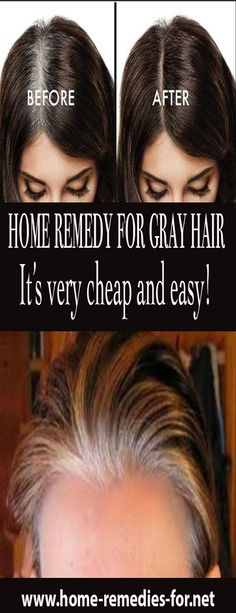 I tried It with my 62-year-old mother and she no longer has white hair! It's very cheap and easy!