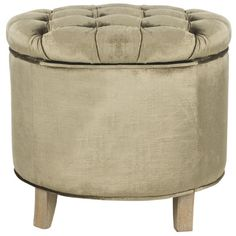 House of Hampton Grover Upholstered Storage Ottoman & Reviews   Wayfair