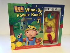 Bob the Builder - Wind-Up Power Book