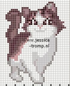 96995836_large_156640893259450818_VCfatJyE_c — Postimage.org Beaded Cross Stitch, Cross Stitch Embroidery, Cross Stitch Patterns, Fair Isle Knitting Patterns, Beaded Animals, Cat Pattern, Yarn Projects, Rug Hooking, Creative Crafts