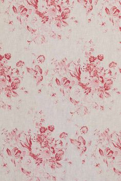 Cabbages & Roses | Kuddfodral Constance Raspberry | Matilde & Co | Handla online Love this print❤️