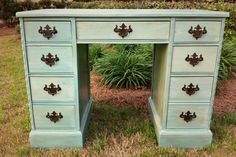 Restored French Country Style Desk