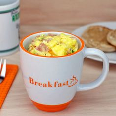 Microwave Farmers Omelet (In A Cup)