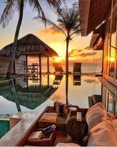 Naladhu Private Island Maldives, Dusit Thani Maldives, #Travel #Vacation #Resort #Luxury Villa, Image - Follow @extremegentleman for more pics like this!