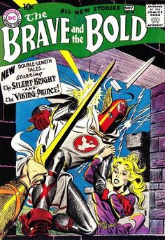The Brave and the Bold Viking Prince-comic book FN Comic Book Superheroes, Dc Comic Books, Comic Book Covers, Comic Art, Silver Age Comics, Brave And The Bold, Be Bold, Bd Comics, Marvel Comics