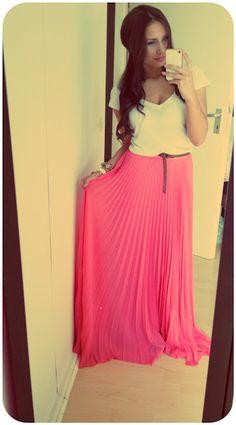 Eggplant Maxi Skirt | W A R D R O B E 。 | Pinterest | Stylists ...