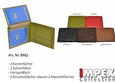 New Wallets available in different colors. NEW iMPEX-Collection.  iMPEX Modeartikel Kommissionswaren GmbH auf Google+
