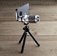 ZOOM LENS & TRIPOD FOR iPhone® 4/4S/5 restoration hardware
