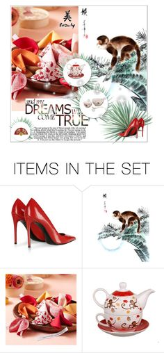 """""""Chinese culture"""" by smile2528 ❤ liked on Polyvore featuring art"""